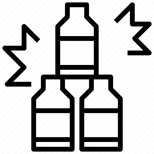 ball, bottle, coffee, drink, food, milk, shop icon