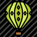 air, amusement, balloon, hot, park