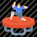 amusement, park, plaything, trampoline
