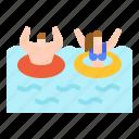 amusement, park, plaything, sea, water