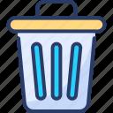 bin, clean, clutter, dustbin, garbage, trash, waste