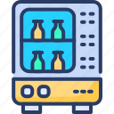 automatic, coffee, cola, dispenser, drink, machine, vending icon