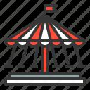amusment, entertainment, park, rides, theme park icon
