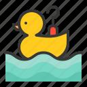 hook a duck, theme park, park, amusment, entertainment icon
