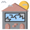 halloween, haunted, horror, house, scary, spooky, terror icon