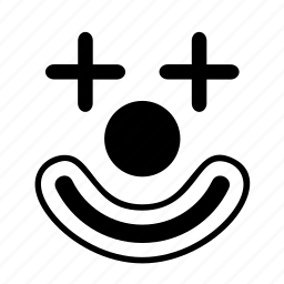 amusement, clown, fairground, fun, park, ride icon
