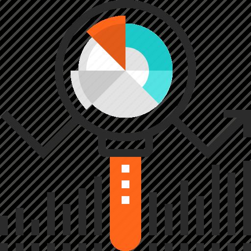 Analysis, analytics, chart, data, graph, search, statistics icon - Download on Iconfinder