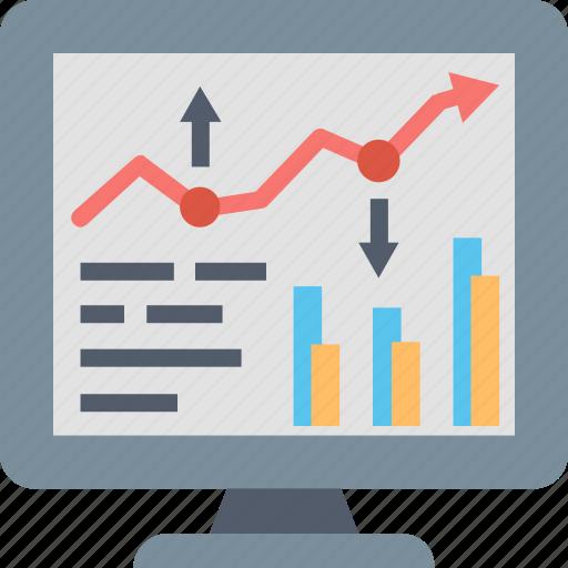 analytics, analyze, chart, data, graph, report, statistics icon