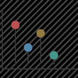 analytics, chart, finance, graph, infographic, report, statistics icon