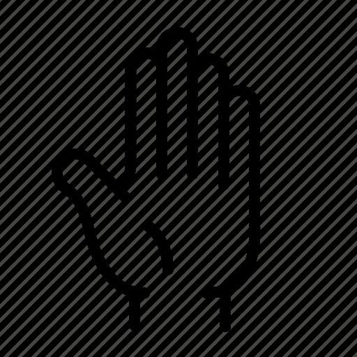 anatomy, body, hand, high five, human, organ, palm icon