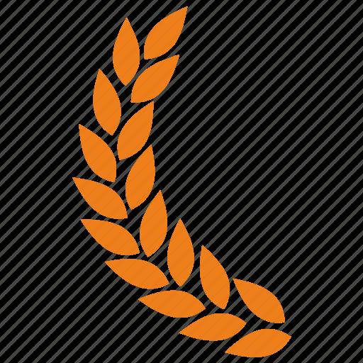 branch, laurel, left icon