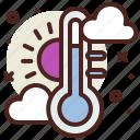 snow, temperature, winter icon