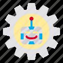 gear, machine, options, preferences, robot, setting, settings