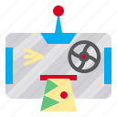 mobile, machine, smartphone, phone, robot, shooting, android icon