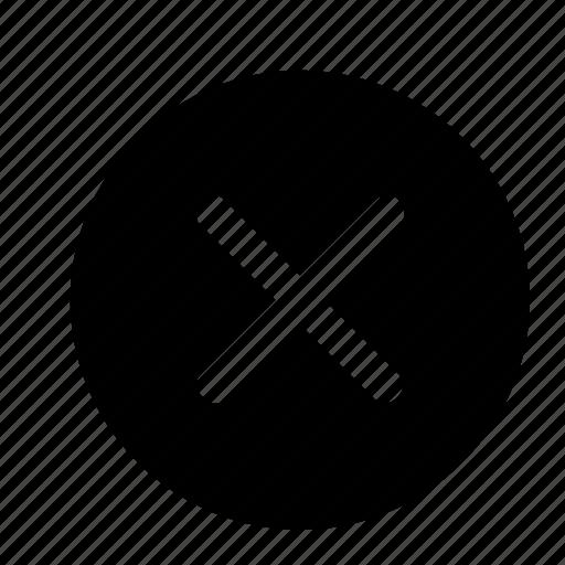 Cancel, close, delete, discard, dismiss, exit, remove icon - Download on Iconfinder