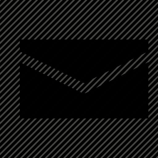 email, envelope, letter, mail, message, newslatter icon
