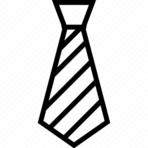 accessory, business, clothes, fashion, garment, men, tie icon