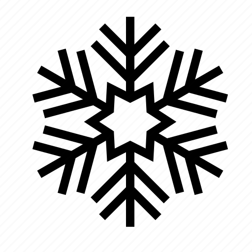 christmas, holiday, snow, snowflake, winter icon