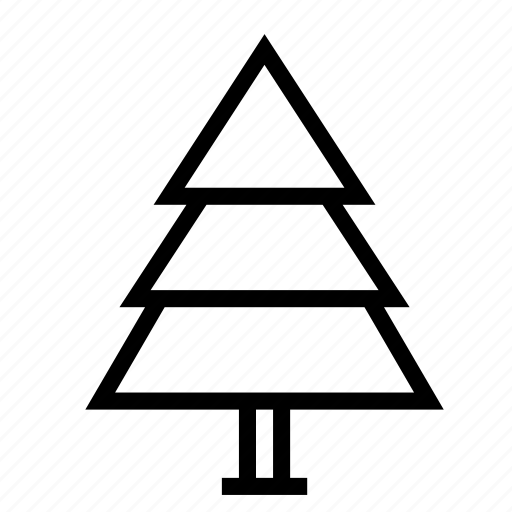 Christmas, holiday, nature, park, plant, tree, winter icon - Download on Iconfinder