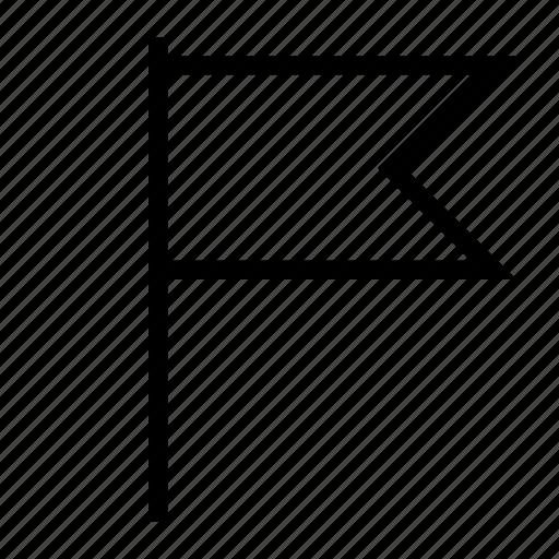 flag, location, map, mark, pin icon