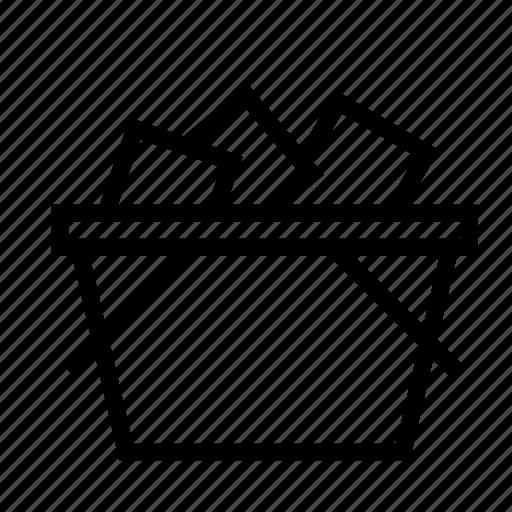basket, full, goods, product, shopping icon