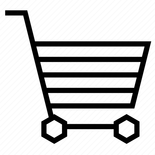 buy, cart, checkout, empty, shopping, strolley icon