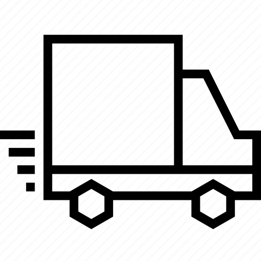 express, lorry, ship, shipping, shopping, truck, vehicle icon