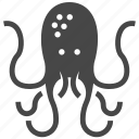 octopus, squid icon