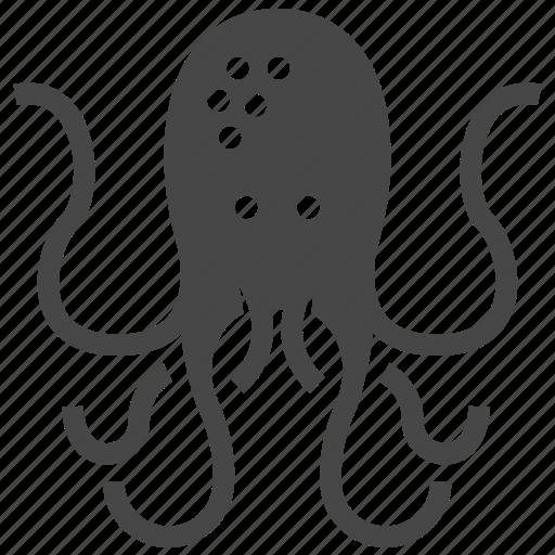 octopus, squid icon