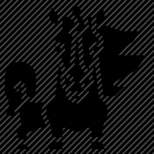 animal, equestrian, horse, mammal, stallion icon