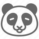 animal, panda, wild, wildlife, zoo icon