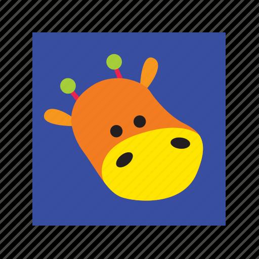 animal, cute, funny, giraffe icon