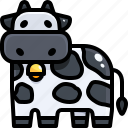 animals, avatar, beef, bull, cattle, cow, ox icon