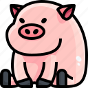 animals, avatar, farm, life, pig, pork, wild
