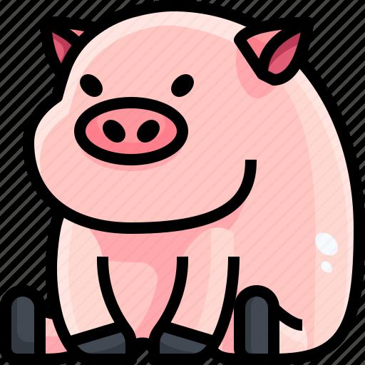 Animals, avatar, farm, life, pig, pork, wild icon - Download on Iconfinder
