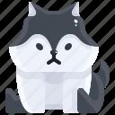 avatar, canine, dog, life, pet, puppy, wild icon
