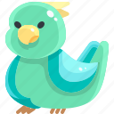 animal, animals, bird, dove, fly, wings icon