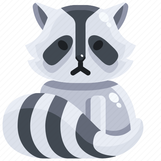 Animals, life, raccoon, wild, zoo, zoology icon - Download on Iconfinder
