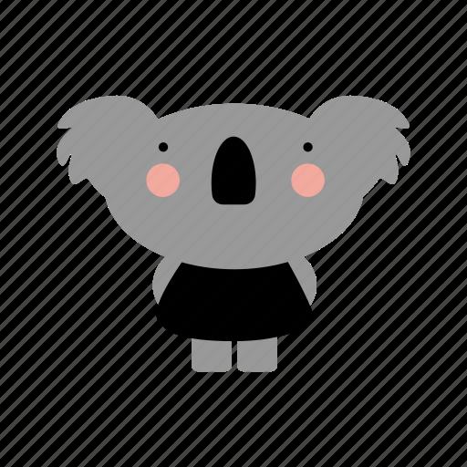 animal, animals, cute, cutebaby, girl, koala, pretty icon
