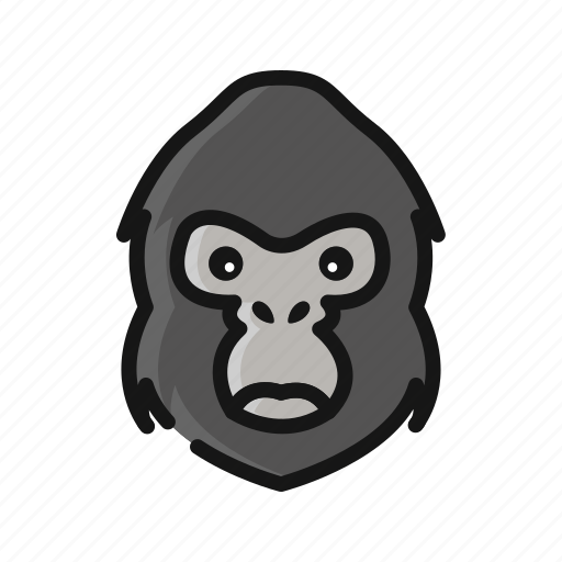 Animal, chimpanze, gorilla, harambe, mammals, monkey icon - Download on Iconfinder
