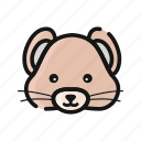 mammals, animal, pest, mouse, mice icon
