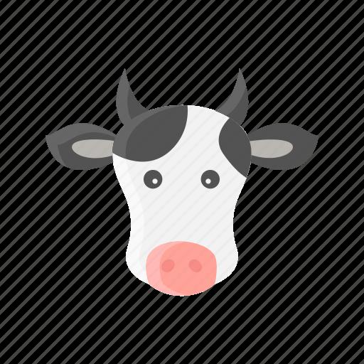 Animal, cow, farm, livestock, mammals, meat, milk icon - Download on Iconfinder