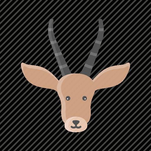 animal, deer, elk, mammals, reindeer, rudolph, wild icon