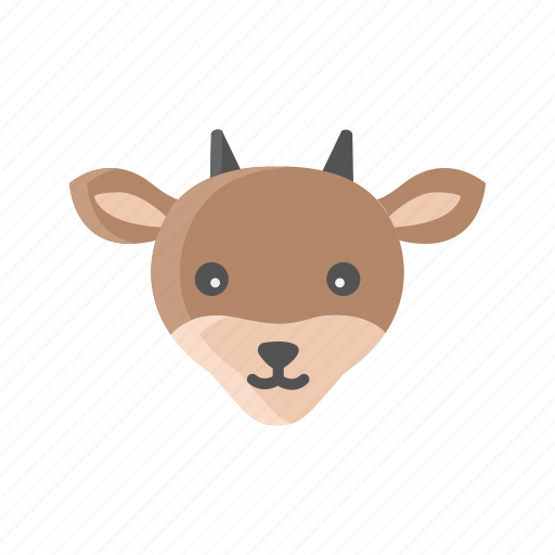 Animal, farm, goat, livestock, mammals, meat, milk icon - Download on Iconfinder