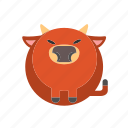animal, bison, bull, mammal, ox icon