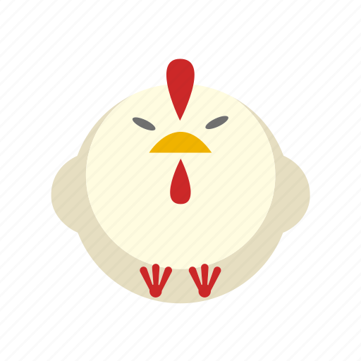 animal, chicken, cock, hen, rooster icon