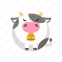 animal, cow, daily, farm, ox icon