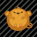 animal, ape, mammal, monkey, zoo icon