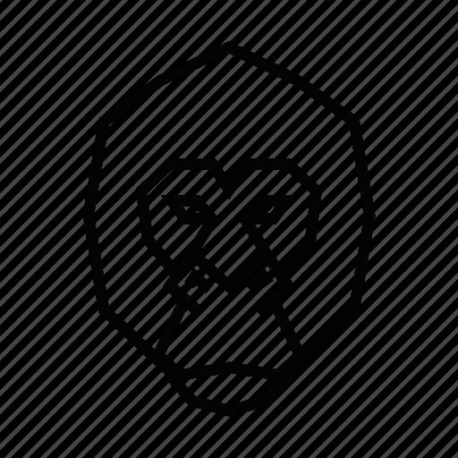 Ape, gorila, head, monkey icon - Download on Iconfinder