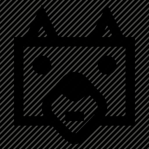 .svg, animals, box, dog, funny, unique icon
